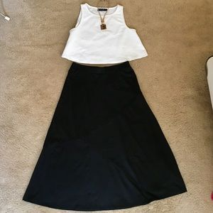 New York Clothing Company Skirts - Flattering Maxi Skirt